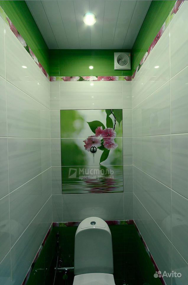 Фото дизайна ванной и туалета в кафеле