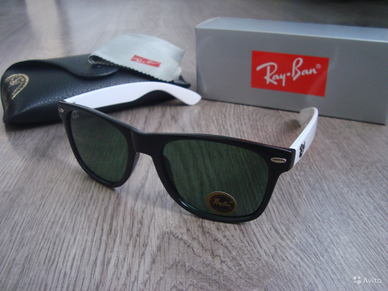 Очки ray ban wayfarer 19 фотография