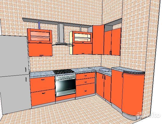 Проекты кухонь с вентиляционным коробом