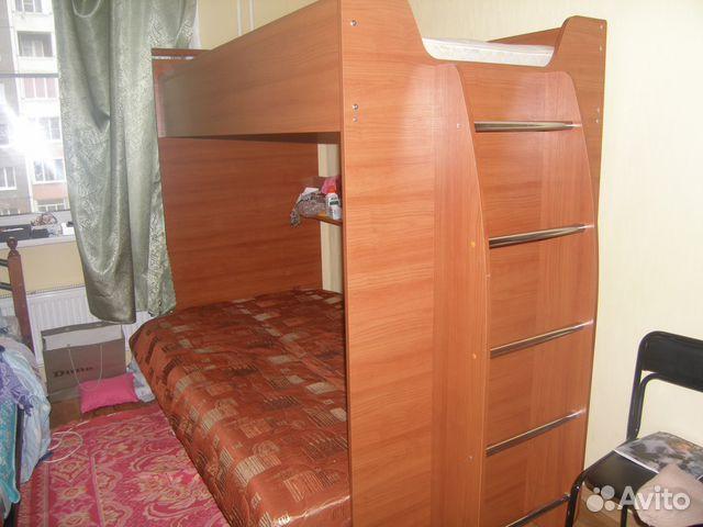Двухъярусная Кровать С Диваном В Санкт-Петербурге