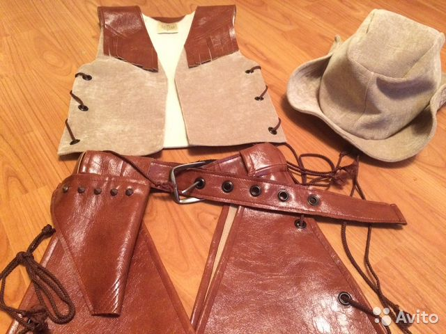 Как сшить кобуру для костюма ковбоя 15