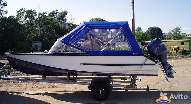 тент ходовой на лодку из пвх для рыбалки