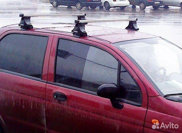 Багажник на крышу матиза своими руками 40