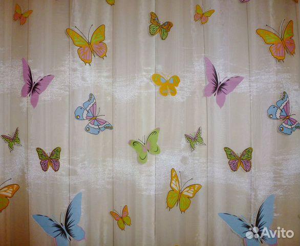 фото тюль бабочки
