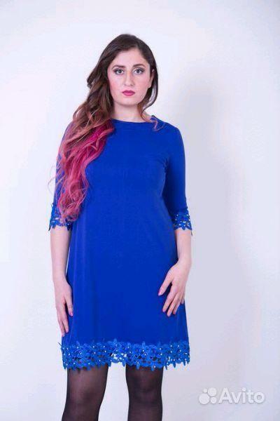 452a424bde6 Синее платье с кружевом. Много вещей