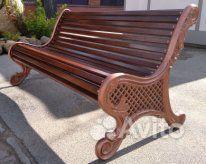 Уличные скамейки купить на Вуёк.ру - фотография № 7