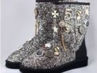 Жен. угги UGG Chanel Sparkles white