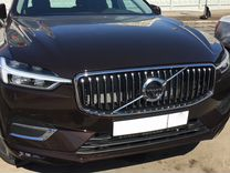 Volvo XC60 2018 inscription - решётка радиатора
