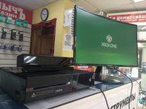Xbox One 500Gb+Kinect+3 игры+игровые наушники — Игры, приставки и программы в Братске