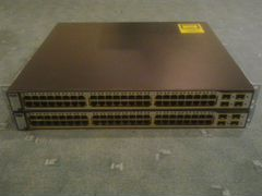 Коммутатор cisco ws cisco 3750g-48ts-s
