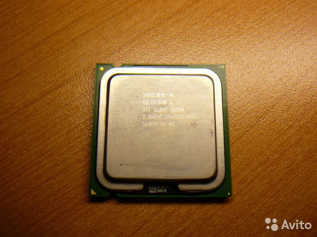 CPU Intel Celeron D 331 2.66 GHz— фотография №1