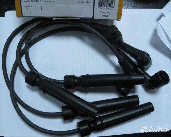 провода высоковольтные chevrolet cruze 1.8