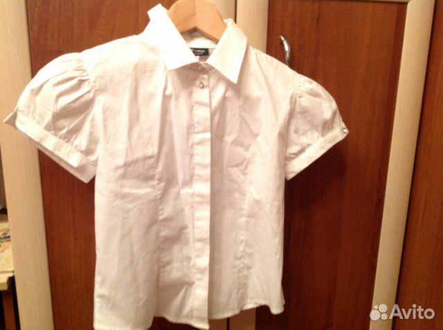 Блузка белая детская с доставкой