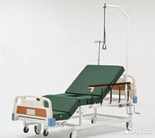 Функциональную кровать для лежачих больных б/у