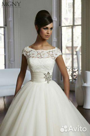 24688308078 Свадебное платье. Белого цвета купить в Северной Осетии на Avito ...