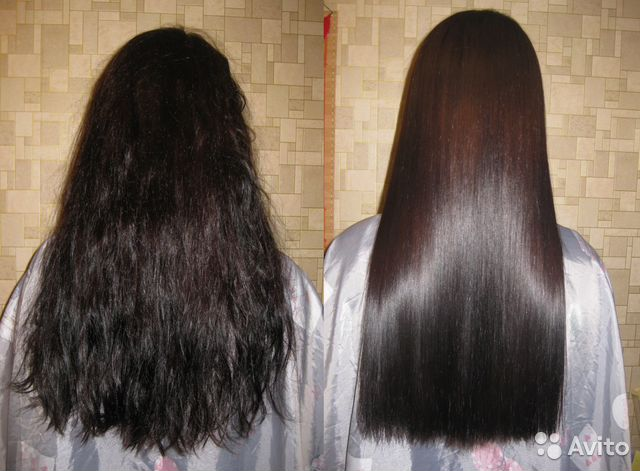 Выпрямление волос московская