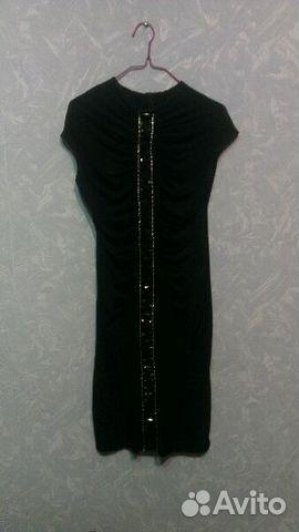 1feb0395922 Чёрное платье с камнями купить в Краснодарском крае на Avito ...