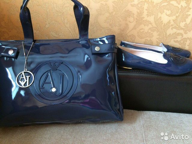 Сумка-тоут Armani Jeans купить за 13551 руб в интернет