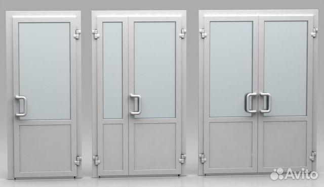 двери пвх входные в тамбур