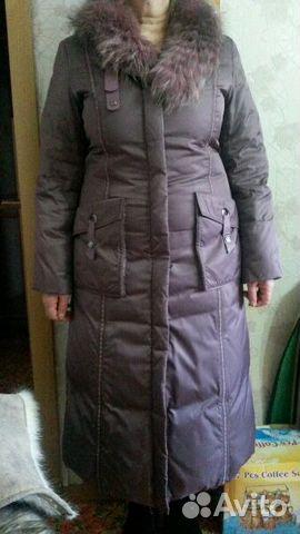 Куртка зимняя (пуховик) р.48