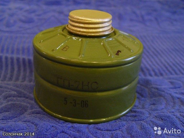 Фильтрующая поглощающая коробка гп-7к