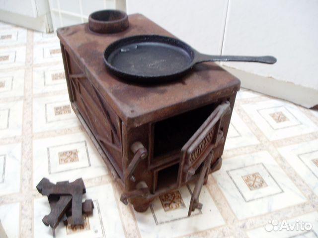 чугунная печь