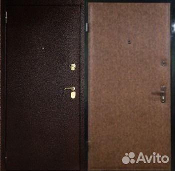 железные двери с винилискожей в сао