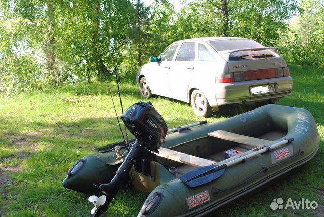 купить мотор на лодку на авито вологда