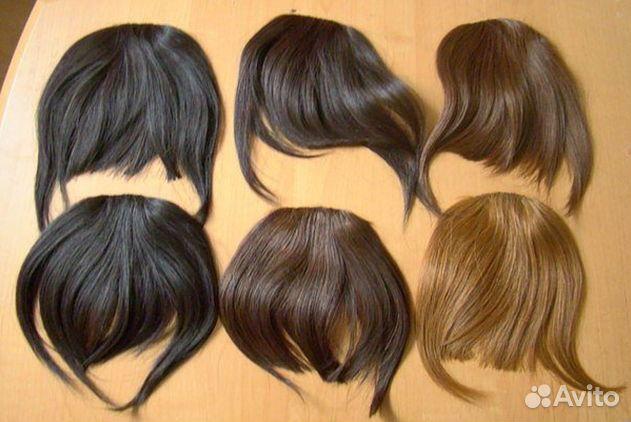 Накладные члки из натуральных волос
