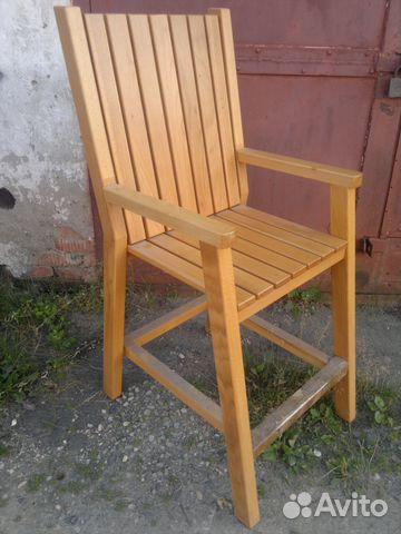 Chair made of beech