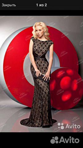 Платье нереальной красоты 89995872720 купить 1