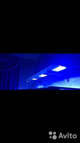 Металлогалогенный светильник для аквариума 68