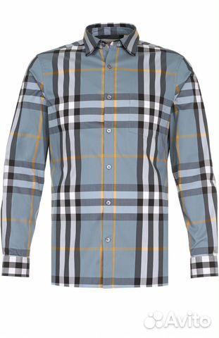 4a3ed37c6d3a Мужская рубашка в клетку burberry купить в Санкт-Петербурге на Avito ...