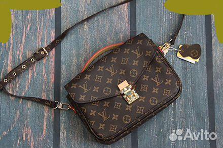 3d25e181737e Клатч-сумка Louis Vuitton Натуральная кожа | Festima.Ru - Мониторинг ...