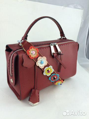 d39658f75785 Женская кожаная сумка Fendi арт.021-2 купить в Москве на Avito ...