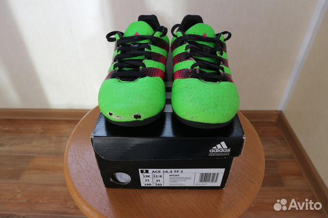 d84122de Кроссовки футбольные Adidas 31 размера | Festima.Ru - Мониторинг ...