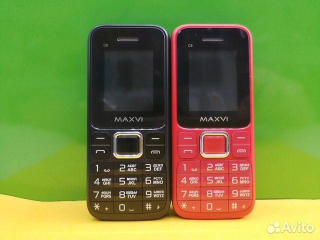 eb1811c2a00 Новые кнопочные телефоны Maxvi C8 купить в Москве на Avito ...