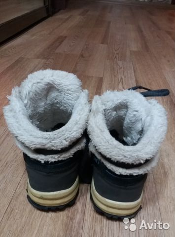 Продаю зимние ботинки для девочки, р.32