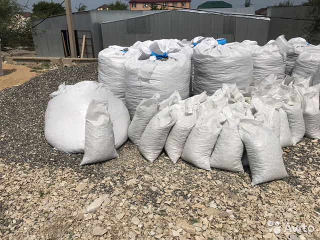 Crushed stone in bags 89882922021 buy 1