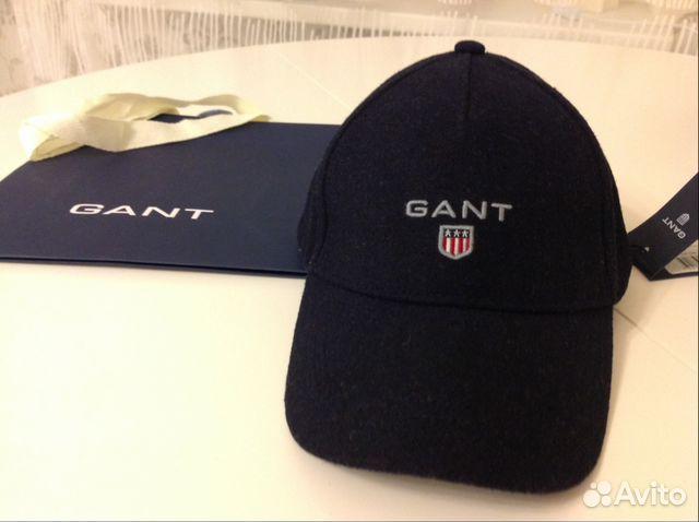 Новая зимняя кепка - бейсболка Gant оригинал  4b8350afa2c4e