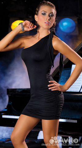 13dc052d631 Красное облегающее мини-платье на одно плечо купить в Краснодарском ...