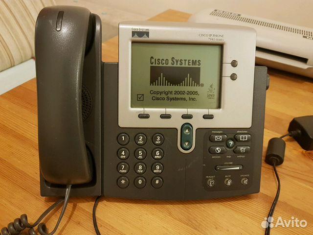 Ipтелефон Cisco 7941 купить в Новосибирской области на Avito