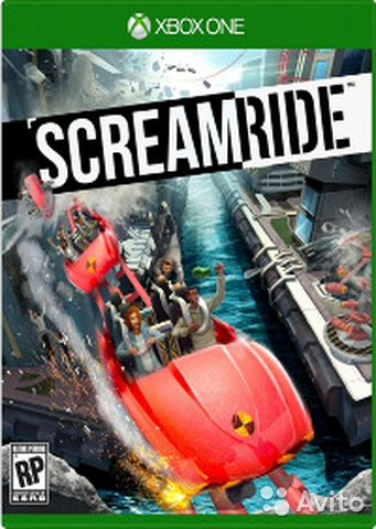 ScreamRide Xbox игра