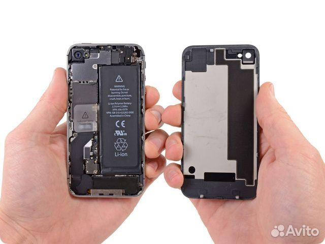 замена аккумулятора iphone 4 цена киров