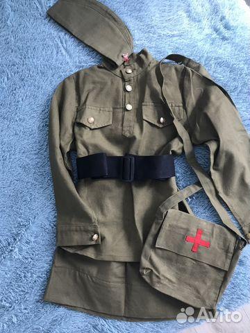 Военная форма для девочки 7-10лет 89158277791 купить 1