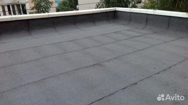 Битумная плоская крыша