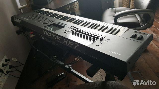Yamaha Motif xf7 (76) синтезатор рабочая станция купить в