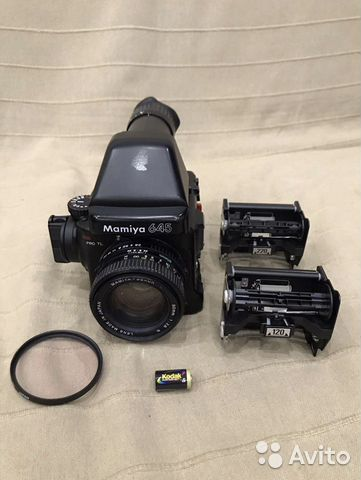 Mamiya 645 pro tl + Mamiya - Sekor C 55mm 2 8 | Festima Ru