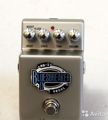 Marshall BB-2 THE bluesbreaker II effect pedal 89226145077 купить 3