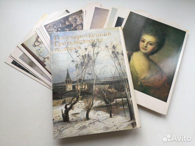 набор открыток третьяковская галерея декоративные статуэтками